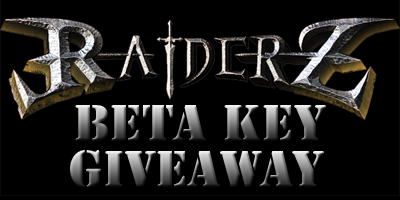 Raiderz Beta Key Giveaway