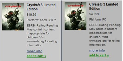 What a Crysis...3!